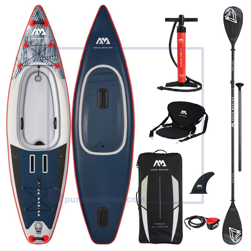 Cascade Hybrid - Inflatable Stand Up Paddle Board - Kayak Package 2021