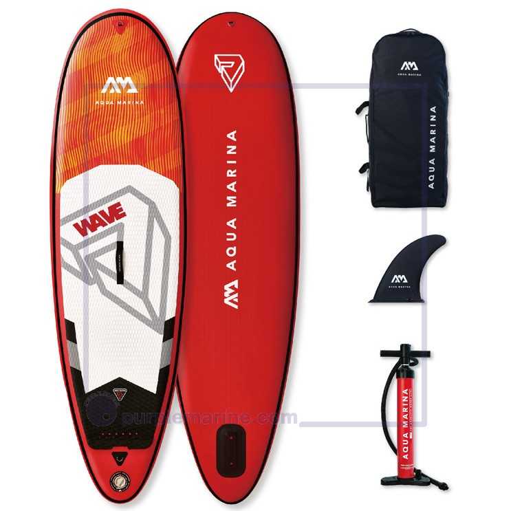 "Aqua Marina Wave 8'8"" Inflatable SUP"