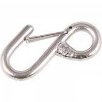 Allen Stainless steel welded 'S' hook with keeper L=61mm A4459