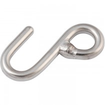 Allen Stainless steel welded 'S' hook L=61mm A4659
