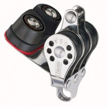 Harken Micro Triple Block with / 434 Carbo Cam Cleat & Becket H231