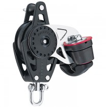 Harken 57mm Carbo Single Block with Swivel/150 Cam-Matic & Becket H2616