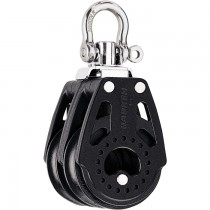 Harken 40mm Carbo Double Block with Swivel Shackle Head H2638