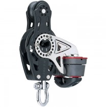 Harken 57mm Carbo Fiddle Block with Ratchet /150 Cam-Matic H2675