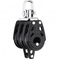 Harken 29mm Carbo Triple Block with Swivel Shackle and Becket H345