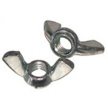 Stainless Steel Wing Nut M4 (2 Pack)