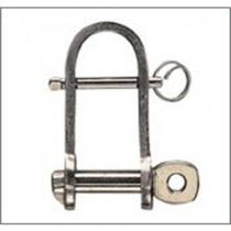 Rwo Halyard Strip Shackle Pin Dia=8mm L=41mm W=20mm R6175