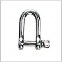 Rwo Captive 'D' Bar Shackle Pin Dia=6mm L=19mm W=12mm R7722