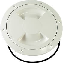 "Sea Sure Inspection Hatch 5"" White 18-72W"