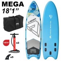 "Aqua Marina Mega 18'1"" Inflatable SUP"
