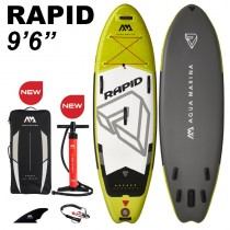 "Aqua Marina Rapid 9'6"" Inflatable SUP 2021"