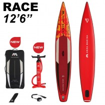"Aqua Marina Race 12'6"" Inflatable Stand Up Paddle Board Package 2021"