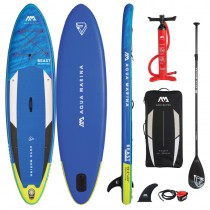 "Aqua Marina Beast 10'6"" Inflatable Stand Up Paddle Board Package 2021"