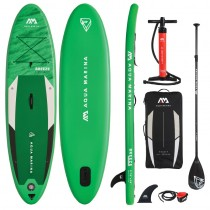 "Aqua Marina Breeze 9'10"" Inflatable Stand Up Paddle Board Package 2021"