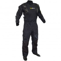 Gul Code Zero Stretch U Zip Stretch  Drysuit GM0368-B5BKBK