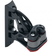Harken 29mm Carbo Pivoting Lead Block With Cam-Matic cleat 395