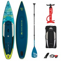 "Aqua Marina Hyper 11'6"" Inflatable Stand Up Paddle Board with CARBON PADDLE"