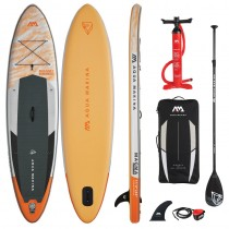 "Aqua Marina Magma 11'2"" Inflatable Stand Up Paddle Board Package 2021"
