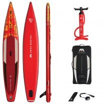 "Aqua Marina Race 14'0"" Inflatable Stand Up Paddle Board Package 2021"