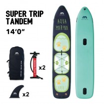 "Aqua Marina Super Trip Tandem 14'0"" Inflatable SUP"