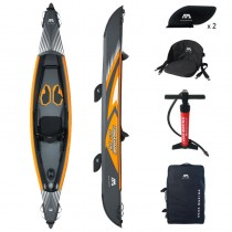 Aqua Marina Tomahawk Air-K 375 High Pressure Drop-Stich Premium Inflatable Kayak