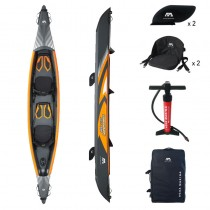 Aqua Marina Tomahawk Air-K 440 High Pressure Drop-Stich Premium Inflatable Kayak