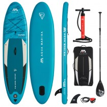 "Aqua Marina Vapor 10'4"" Inflatable Stand Up Paddle Board Package 2021"